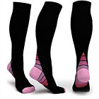 Men&Women Anti-Fatigue Knee High Stockings Sports Compression Leg Support Socks