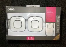 Byron Pro Wireless Doorbell Set (batteries Included)