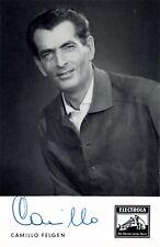 CAMILLO FELGEN SAG WARUM AUTOGRAPHE Autogramm PHOTO SIGNEE Foto signiert signed