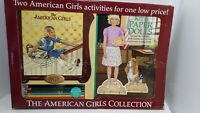 The American Girls Collection Kit's Art Studio & Paper Dolls Open Box Never Used