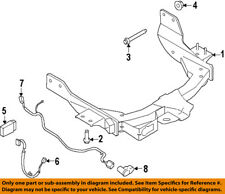 FORD OEM 15-17 Transit-350 Trailer Hitch-Rear Bumper-Wire Harness CK4Z13A576B