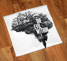 The Evil Within Xbox 360 One PS3 PS4 Rare Promo T-Shirt Size L Bethesda