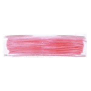 5m pink nylon thread by Craft Factory 0.5mm beading, jewellery
