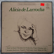 Alicia de Larrocha Vox/Hispabox Piano Personalities 3LP Box Set NM
