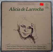 Alicia de Larrocha Vox/Hispabox Piano Personalities 3LP Box Set NM