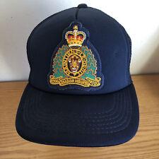 Royal Canadian Mounted Police  Ball Cap Navy 1 Sz  Maintens* Le Droit