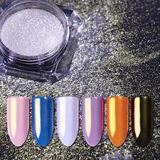 Nail Mirror Glitter Powder Silver Gold Mermaid Dust Nail Art BORN PRETTY Decor