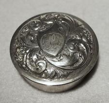 Antique Sterling Silver Snuff Box ~ Frank Smith & Co. ~ Gorgeous