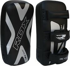 RDX Thai Kick Boxing Strike Curved Arm Pad MMA Focus Muay Punch Shield Mitt T8 C