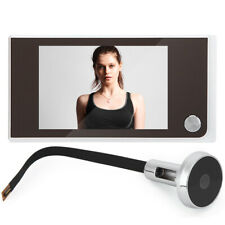 "3.5"" LCD Digital 120° Peephole Viewer Monitoring Electronic Cat Eye Camera"