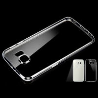 1X For Samsung S7 Edge Case Slim Crystal Clear TPU Silicone Protective Sleeve JP