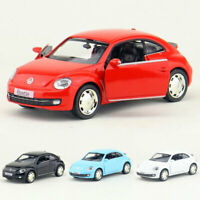 1:36 VW Beetle 2012 Model Car Alloy Diecast Toy Vehicle Pull Back Kids Gift