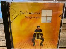 When You're Gone by The Cranberries (CD, PROMO Single)