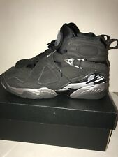 Jordan 8 black and silver colorway Size 6