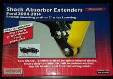 2004-2017 Ford F150 Drop Rear Shock Extenders Extensions Bracket Lowering Kit