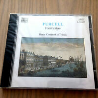 Henry Purcell – Fantazias (CD 1997) NEW & SEALED Rose Consort Of Viols
