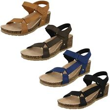F1R0716- Ladies Down To Earth Strappy Sandals- 4 Colours- Great Price!