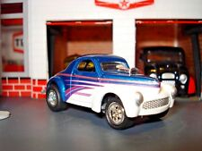 "1941 41 WILLYS COUPE ""RACING WILLY"" LIMITED EDITION CAR 1/64 DRAG CAR JL COOL!!"