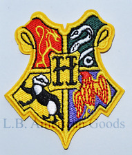 Harry Potter Wappen HOGWARTS Aufnäher Patch *SOFORTVERSAND*