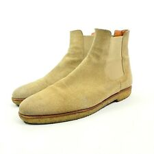 Great Price #1 Men's Luxury Common Projects Chelsea Boots Tan Size 42 (Fit10US)