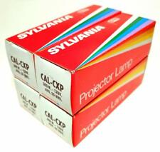 Lot of 4 CAL CXP Sylvania Projector Lamps Bulbs 300W 120V 25 hrs. USA NOS