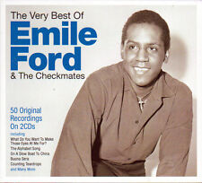 EMILE FORD & THE CHECKMATES - THE VERY BEST OF - 50 ORIGINAL RECORGING (NEW 2CD)