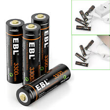 USB Cable Rechargeable AA Battery Li-ion 1600mAh 3300mWh Long Lasting Batteries