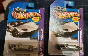 Hotwheels Zamac Lamborghini Adventure J Hw Showroom Lot Of 2
