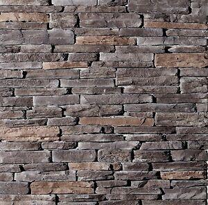 Stone Veneer Cultured Kentucky Ledge Stone 88 Sq. Ft.