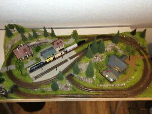 Spur N Modelleisenbahnanlage / Modelleisenbahn