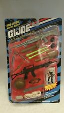 "12"" GI JOE HIGH CALIBER WEAPONS ARSENAL SET"