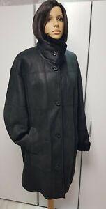 Christ Curly Lammfell Jacke 44 Kurz Mantel Jacke  Shearling Coat Light schwarz