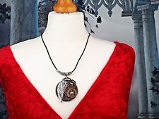Unisex Mens Ladies Angel Wing Pendant Necklace Steampunk Gothic Style Jewellery