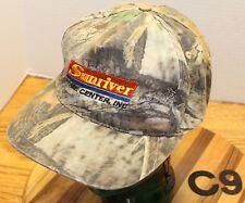 SUNRIVER HOME CENTER SUNRIVER OREGON CAMO HAT ADJUSTABLE VERY GOOD CONDITION C9