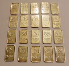 (20) Oxford Mint Alaska Indiana New York Florida one Troy oz .999 Silver Bars