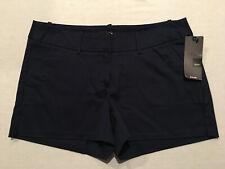 MOSSIMO Women's Xavier Blue Stretch Cotton Pocket Short Shorts, Size 10