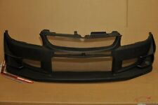 Mitsubishi EVO 7-8-9 Voltex style front bumper with canards