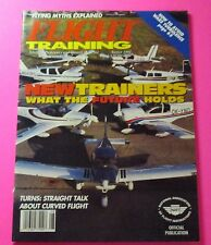 FLIGHT TRAINING MAGAZINE AUG/1994...NEW TRAINERS: WHAT THE FUTURE HOLDS
