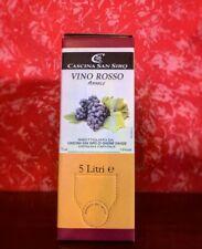 """BAG IN BOX Dolcetto 5lt  """"vino rosso amabile""""- Cascina San Siro"""
