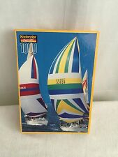 Kodacolor RoseArt 1000 Piece Jigsaw Puzzle Sailboats Sealed New Sealed