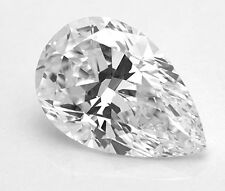0.77ct Pear Shape Excellent Cut Natural Diamond E Color and SI2 Clarity  Jewelry
