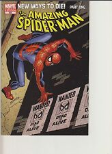 AMAZING SPIDER-MAN #568 VARIANT COVER BY JOHN ROMITA PART 1 NEW WAYS TO DIE