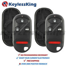 2 New Replacement Remote Car Key Fob Control Shell Pad Case for A269ZUA101 108
