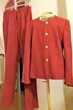Tailleur/pantaloni/rosso lampone ?/taglia 42?/giacca/capospalla/blazer