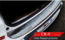 Honda CRV CR-V 2012-2017 Outer REAR BUMPER PROTECTOR GUARD TRIM COVER SILL PLATE