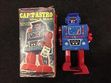 Vintage Mego Capt Astro Space Man Wind-Up Robot In Box