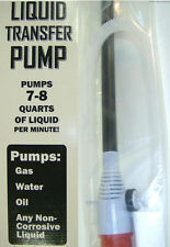 Electric Siphon Pump, Drain Sink Boat Car Aquarium Water Gas, Battery Operated