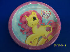 "RARE My Little Pony Party Horse Cartoon Kids Birthday 9"" Paper Dinner Plates"