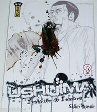 Manga USHIJIMA l'usurier de l'ombre tome 8 Big Kana éditions shoei manabe TBE