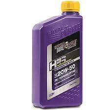 Royal Purple HPS Oil 20w50 High Performance Street motor Oil ( 5 Quarts ) 31250